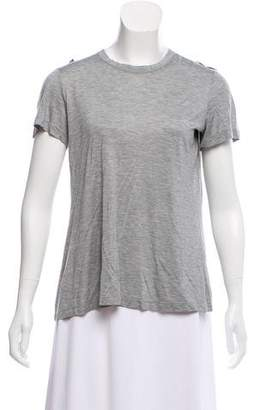 RED Valentino Short Sleeve Knit Top