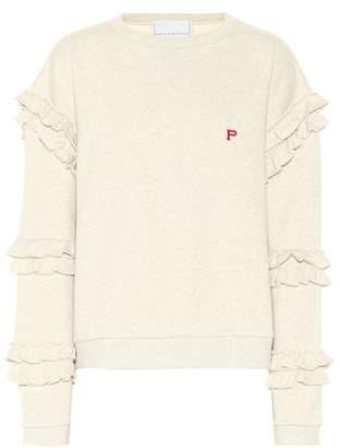 Philosophy di Lorenzo Serafini Ruffle-trimmed sweatshirt
