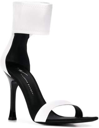 Giuseppe Zanotti two-tone stiletto sandals