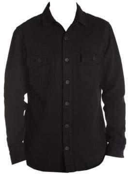 Off-White Denim Button-Front Shirt