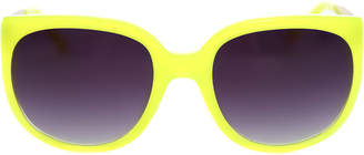 Matthew Williamson Linda Farrow x Neon Cat Eye Sunglasses