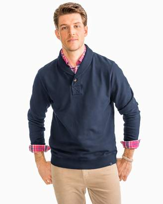 Southern Tide Buchthorn Shawl Collar Pullover