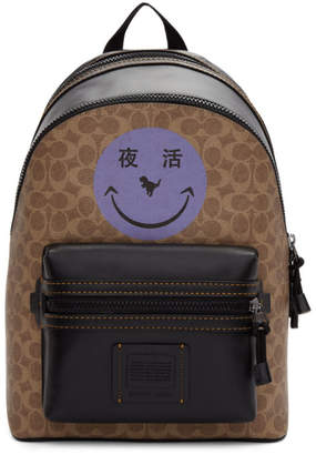 Coach 1941 Khaki Yeti Out Edition Rexy Academy Backpack