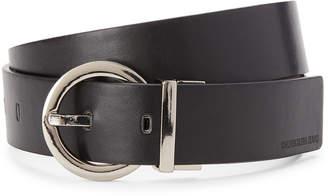 Calvin Klein Black & Pewter Reversible Belt