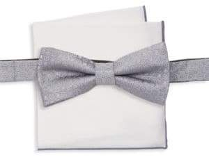 Burma Bibas Two-Piece Medallion Print Bow Tie Set