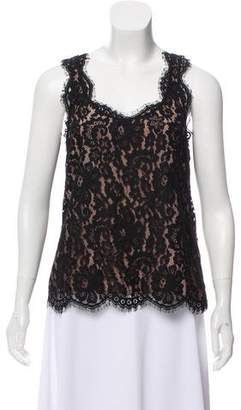 Joie Lace Sleeveless Top