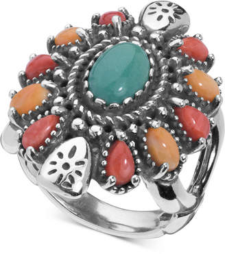 American West Multi-Gemstone Statement Ring (3-1/2 ct. t.w.) in Sterling Silver