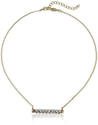 A.V. Max a. v. max Crystal Bar Necklace