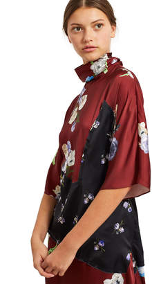 Acne Studios Dilona Floral Print Dress