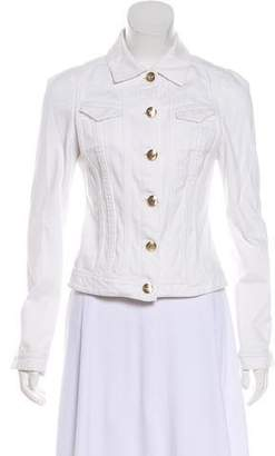 Versace Denim Collared Jacket