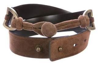 Max Mara Suede Waist Belt