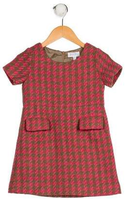 Rachel Riley Girls' Houndstooth Dress