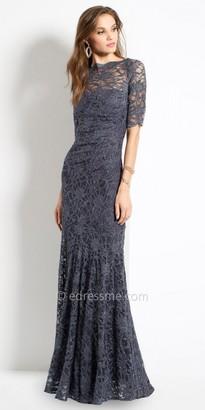 Camille La Vie Lace Elbow Sleeve Evening Dress $150 thestylecure.com