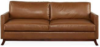 Edwards Sofa - Caramel Leather - Miles Talbott