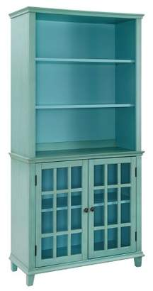 Linon Largo Antique Display Cabinet