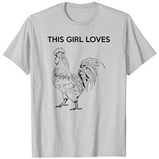 This Girl Loves Funny Gag Gift Women T-Shirt