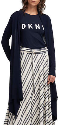 DKNY Long-Sleeve Cozy Cardigan