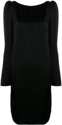 Semi-Couture Semicouture midi long-sleeved dress