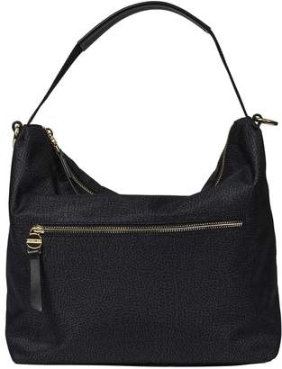 Borbonese Small Hobo Shoulder Bag