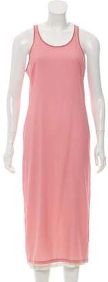Elizabeth and James Silk Double Layer Dress
