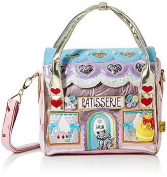Irregular Choice Womens Le Cafe Du Chat Top-Handle Bag
