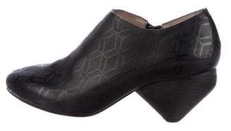 Marsèll Perforated Round-Toe Ankle Boots