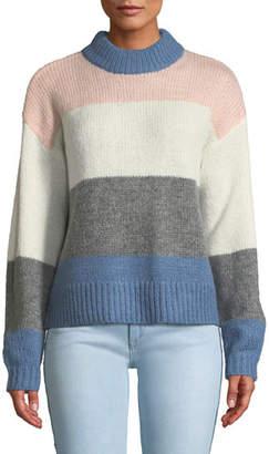 Rebecca Minkoff Kendall Colorblock Pullover Sweater