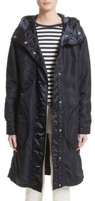Women's Belstaff Claredon Hooded Raincoat $1,395 thestylecure.com