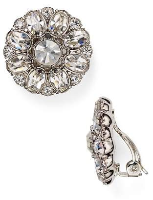 Carolee Embellished Clip-On Earrings
