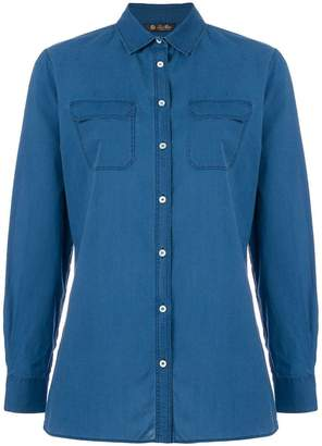 Loro Piana chest pocket denim shirt