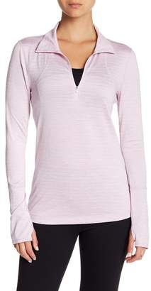Zella Z By Half Zip Fitted Pullover