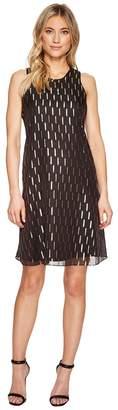 Calvin Klein Gold Tab Trapeze Dress CD7H487T Women's Dress
