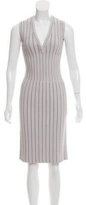 Alaia Knit Knee-Length Dress w/ Tags