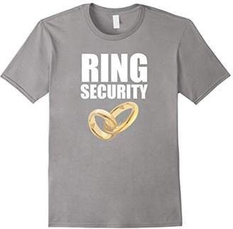 Ring Bearer Security T Shirt | Funny Wedding Party Gifts