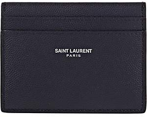 Saint Laurent Men's Card Case-Navy