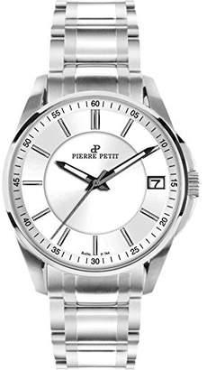 Pierre Petit Women's P-784D Serie Le Mans Dial Stainless-Steel Bracelet Date Watch