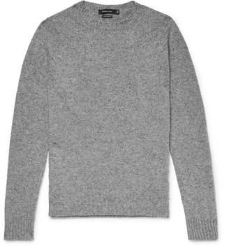 Ermenegildo Zegna Slim-Fit Mélange Cashmere Sweater