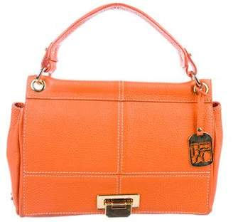 Bric's Grained Leather Satchel w/ Tags