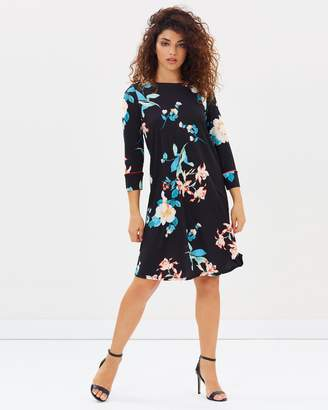 PETITE Oriental Shift Dress