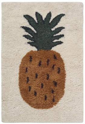 ferm LIVING Large Pineapple Tufted Wool Rug