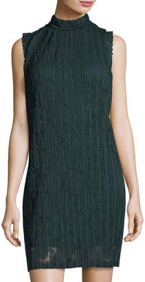 Julia Jordan Pleated A-Line Dress