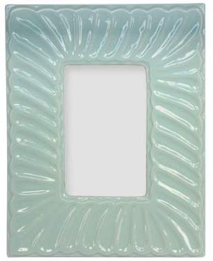 The Contemporary Home Light Blue Ornate Photo Frame