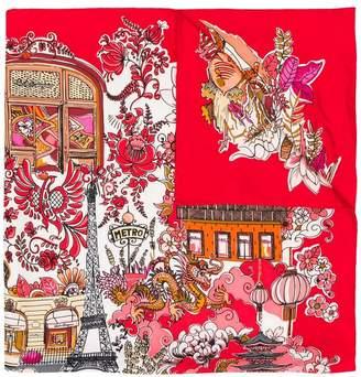Salvatore Ferragamo printed foulard
