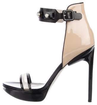 Jason Wu Pearl Embellished Platform Sandals