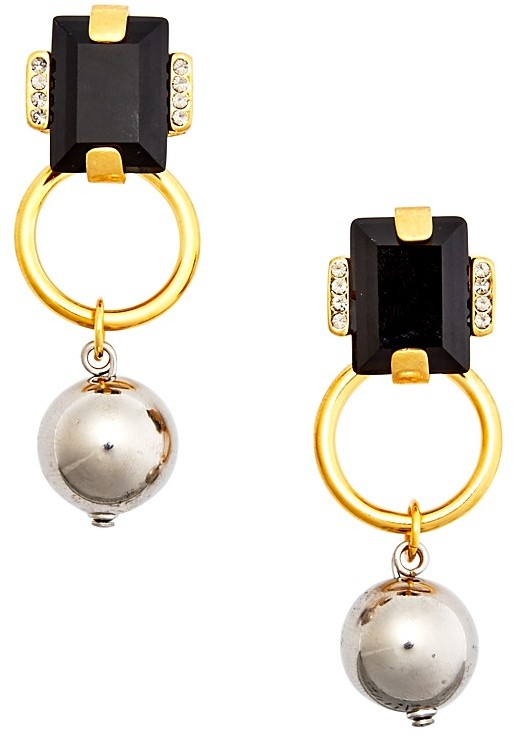 MarniMarni Strass Drop Earrings