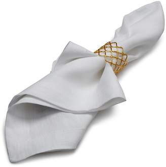 Aman Imports Netted Brass Napkin Ring - 100% Exclusive