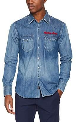 Replay Men's M4981 .000.26c 290 Shirt, (Blue Denim 9), Medium