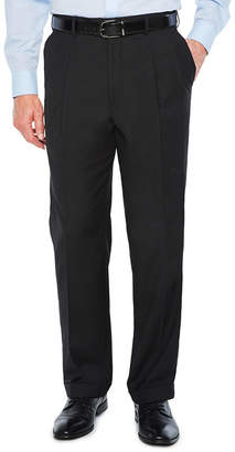 STAFFORD Stafford Sharkskin Stretch Pleated Pants Classic Fit