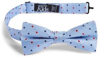 Nordstrom Double Dot Silk Bow Tie