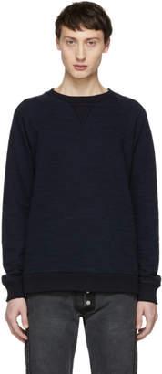 Blue Blue Japan Navy Big Slub Sweatshirt